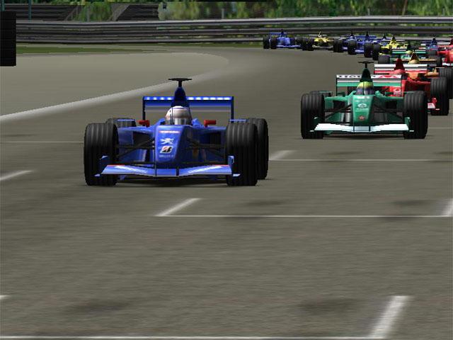 F1 Championship 3D Screen Saver full screenshot
