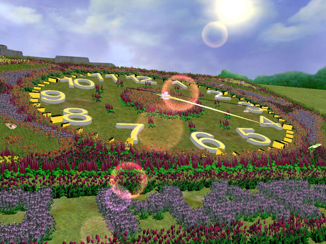 Flower Hill 3D Screensaver