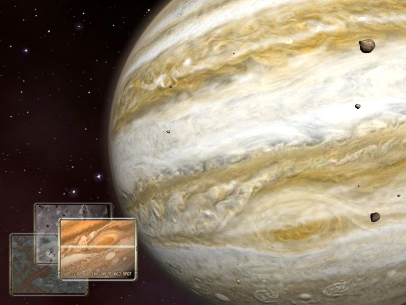 Click to view Jupiter Observation 3D Screensaver 1.0.5 screenshot