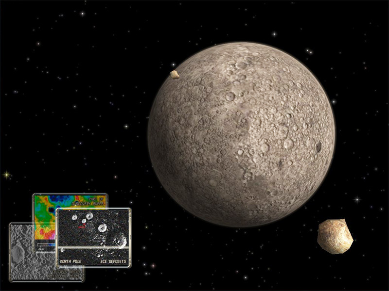 Mercury Observation 3D for Mac OS X Screensaver