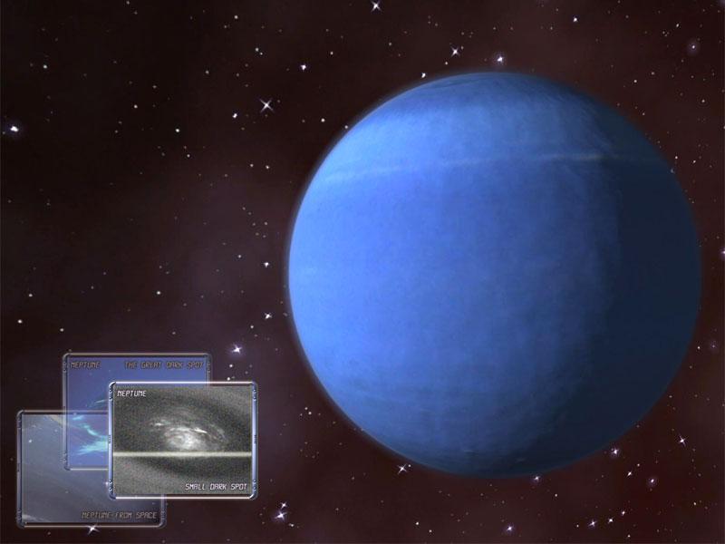 Neptune 3D Space Survey Screen Saver - Screenshot Gallery