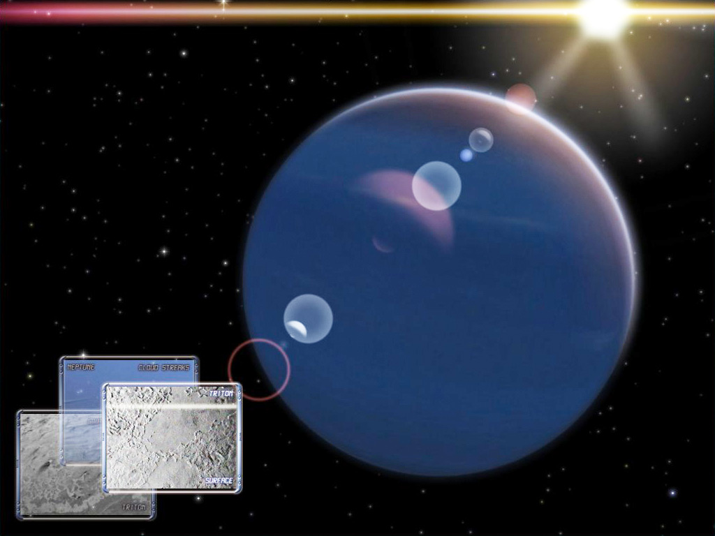 Neptune Observation 3D for Mac OS X Screensaver