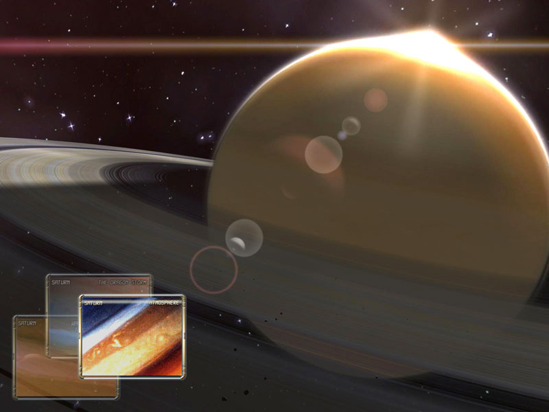 Saturn Observation 3D Screensaver screenshot