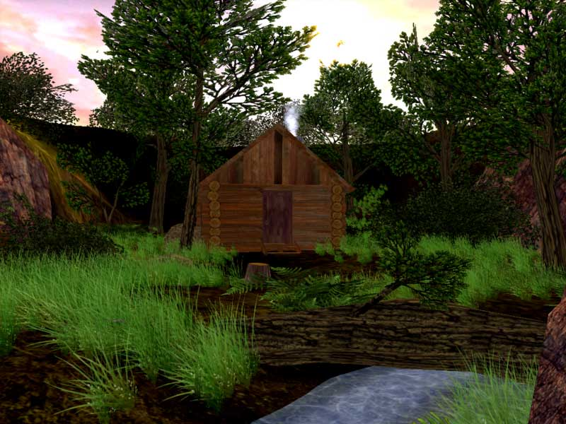 Click to view Spring Dale 3D Screensaver 1.0.3 screenshot