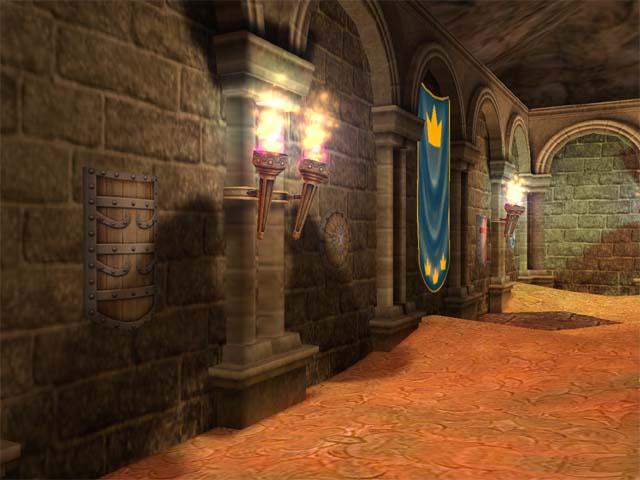 شاشةالتوقف 3d شاهد نفسك وانت تقتحم القلعة وبانتضارك الذهب والمجوهرات