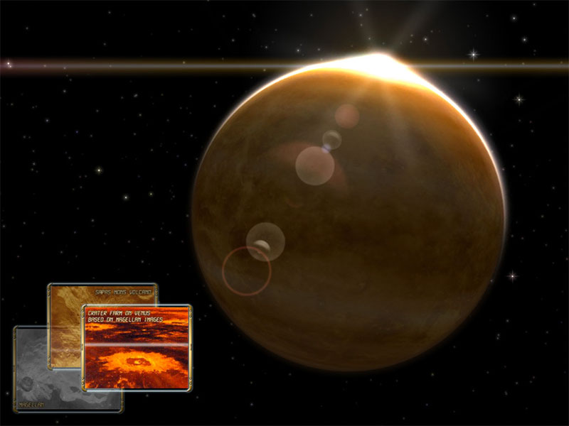 Venus Observation 3D for Mac OS X Screensaver