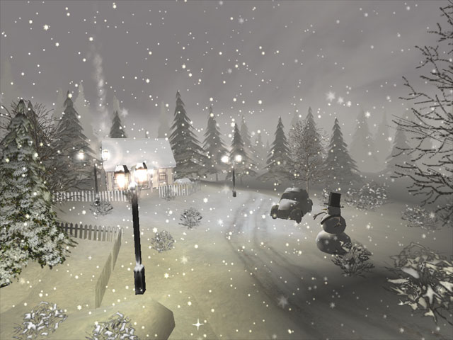 Winter 3D Screensaver