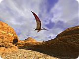 3D Canyon Flight Screen Saver