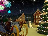 Christmas Holiday 3D Screen Saver