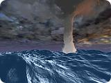 Tornado SeaStorm 3D Screen Saver