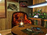Tropical Bungalow 3D Screen Saver